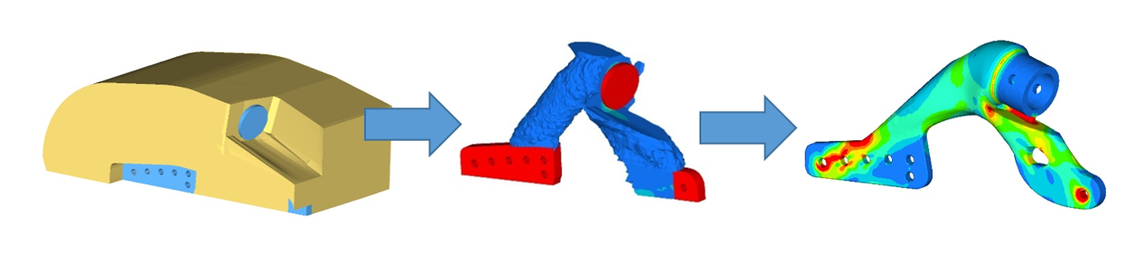 FEA Optimisation of a racing car component