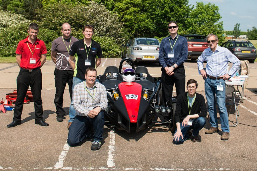 Dynamic testing of the Ariel Atom at Millbrook for baseline CAE model correlation